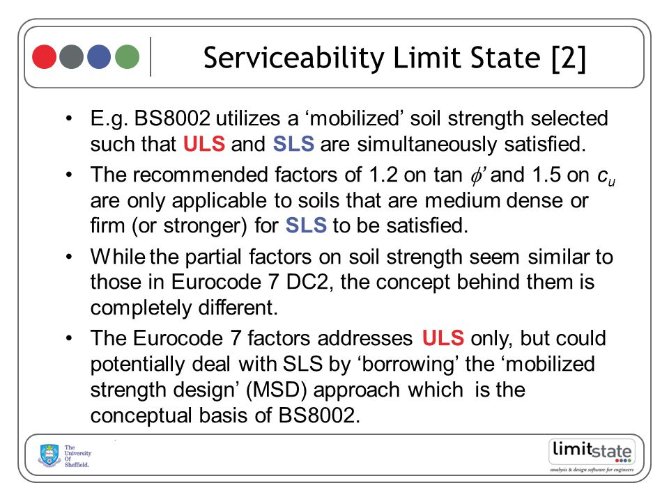 Serviceability Limit State [2]